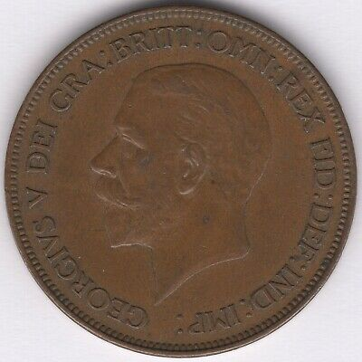 1928 George V One Penny | British Coins | Pennies2Pounds