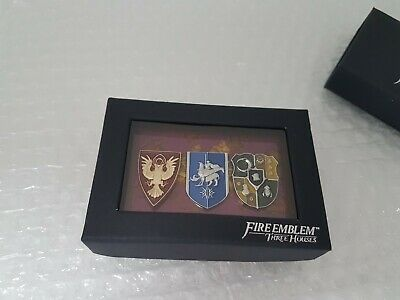 Fire Emblem Three Houses Pins Badgeset New Unopened