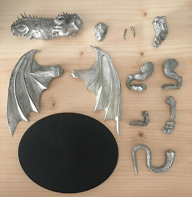 Games Workshop Citadel Lord of the Rings Lotr Dragon Metal