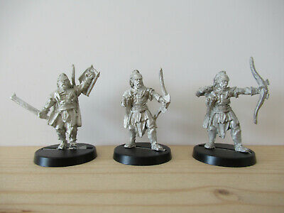 Games Workshop Citadel Lord of the Rings Lotr 3x Lurtz all Poses Metal