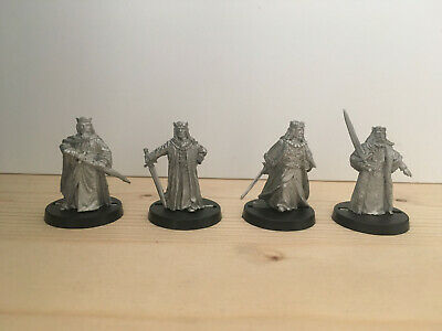 Games Workshop Citadel Lord of the Rings Lotr 4x Kings of Men Metal