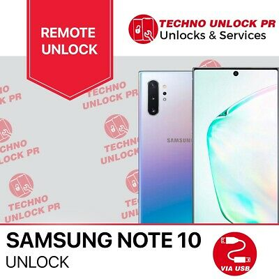 INSTANT Unlock Service Samsung Galaxy Note10 all  /AT&T/XFINITY/CRICKET/SPECTR