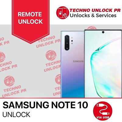 INSTANT Unlock Service Samsung Galaxy Note 10 SPRINT/Tmobile/Verizon