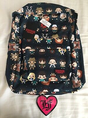 2017 SDCC LOUNGEFLY Stranger Things Backpack Exclusive LE