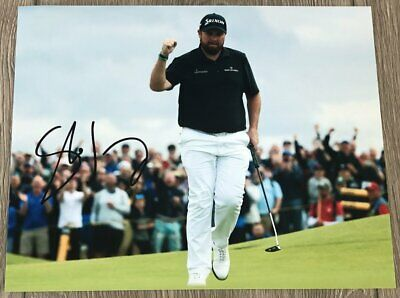 SHANE LOWRY SIGNED AUTOGRAPH 2019 BRITISH OPEN 8x10 PHOTO G w/EXACT PROOF