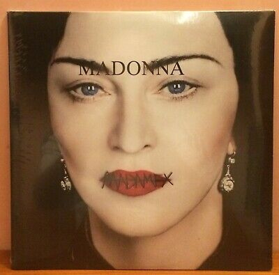 Madonna – Madame X 2xLP – (Translucent Blue vinyl - #1000 copies!) [M/SEALED]