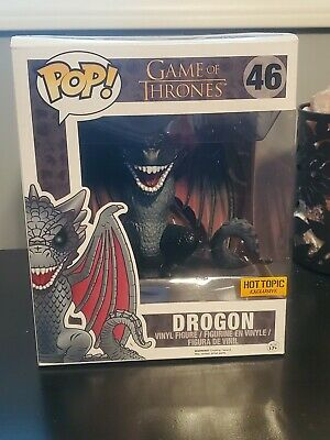 Game of Thrones Drogon 6 Inch Funko Pop Mint Hot Topic Exclusive