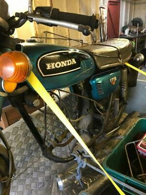 Classic Motorcycle For Restoration