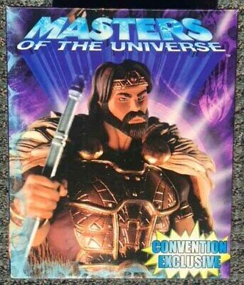 NECA Masters of the Universe MOTU KING RANDOR Statue Figure! LE #1577/2000! NIB!