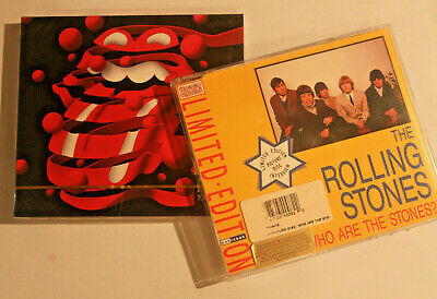 The Rolling Stones ‎– Greatest Hits + Who Are The Stones?  Interview 3 CD SET