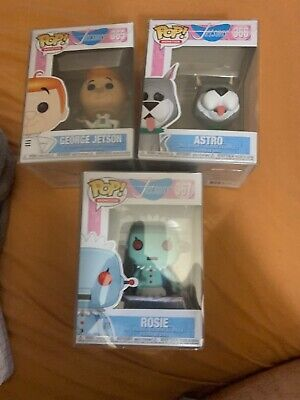 FUNKO POP! Jetsons Lot Of 3. George Jetson, Astro And Rosie!