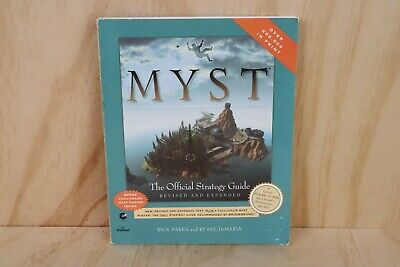 1995 Vintage PC Game Myst Strategy Guide Revised and Expanded Paperback Book
