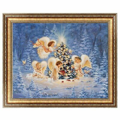 DIY 5D Christmas Angels&Xmas Tree Embroidery Diamond Painting Cross Stitch  Z8S2