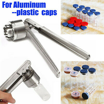 13/20mm Perfume Laboratory glassware Hand Sealing Machine Flip Off Cap Vial Seal