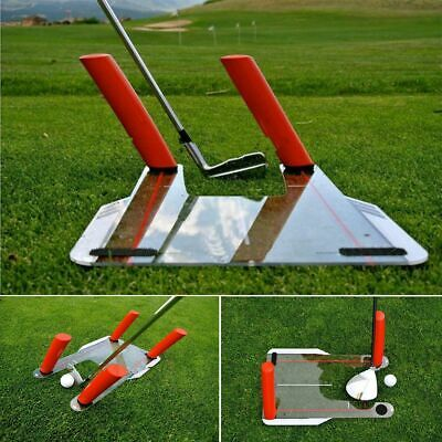 Golf Alignment Trainer Aid Swing Speed Trap Practice 4 Speed