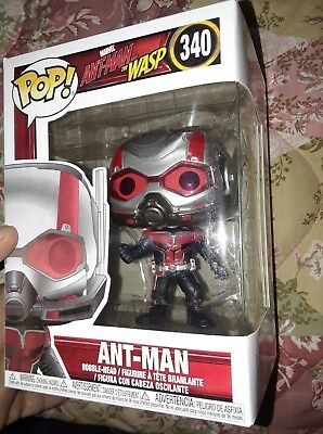 Funko Pop! MARVEL Ant-Man  Ant-Man & The Wasp #340 In Hand Now!!!