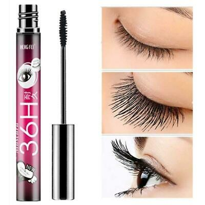 3D Women Fiber Mascara Long Black Lash Eyelash Extension Eye Waterproof New E5N3