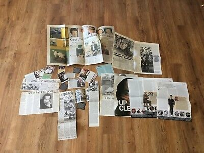 Monty Python/Fawlty Towers/John Cleese Newspaper/Magazine Clippings