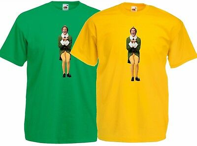 Buddy the Elf, Will Ferrell. Excited Christmas Movie ,T Shirt