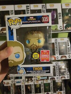 Funko Pop Marvel Avengers Infinity War Thor  Convention Exclusive Gid Gitd