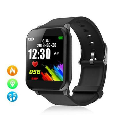 Waterproof Sport Smart Watch Blood Pressure Heart Rate Monitor iPhone&Android FR