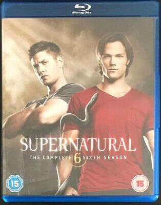 Supernatural Series - Complete Season 6 - 4 Disc Blu-Ray - Excellent Condition