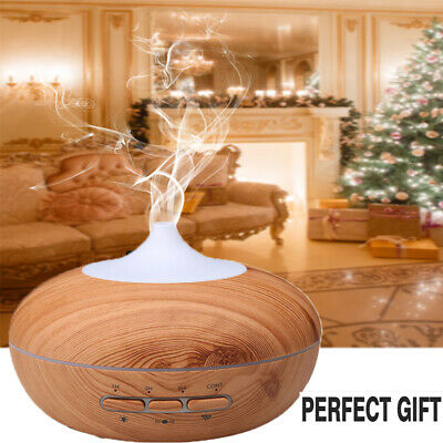 140ml-500ml Essential Oil Aroma Diffuser LED Ultrasonic Air Mist Aromatherapy