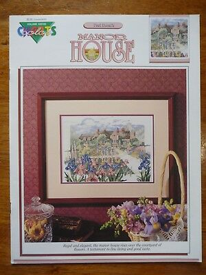 Colour Charts Cross Stitch Pattern #20105 - Manor House