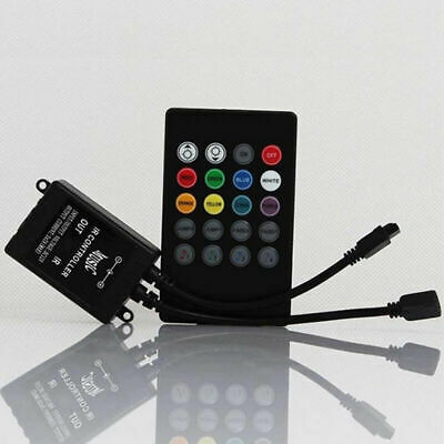Music Sound Activated Controller For RGB LED .Light Remote BIN Strip Key 20 A6P8