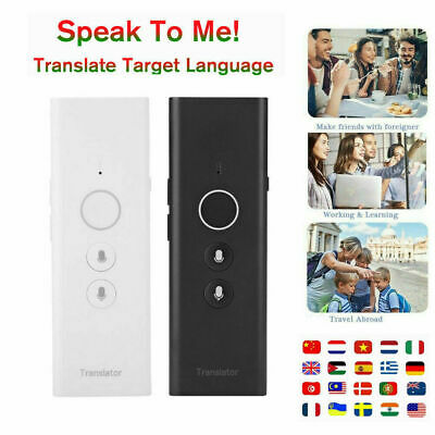 Portable WiFi Smart Voice Translator Two Way Real Time 40 Languages Translation
