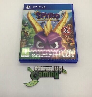 Spyro Reignited Trilogy PS4 PlayStation 4 **FREE UK POSTAGE**