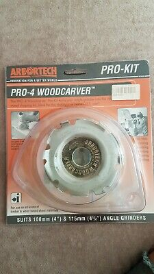 **NEW** ARBORTECH BALL GOUGE ANGLE GRINDER ATTACHMENT FITS 100//115MM 104135