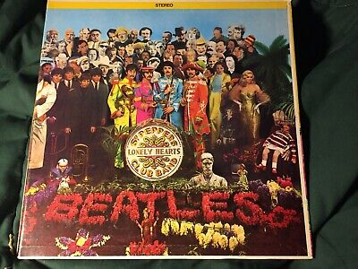The Beatles Sgt Peppers Lonely Hearts Club Band -Original Capitol Canada Stereo