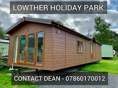 Luxury modern Lodge for sale Lake District Lowther Cumbria Penrith Ullswater
