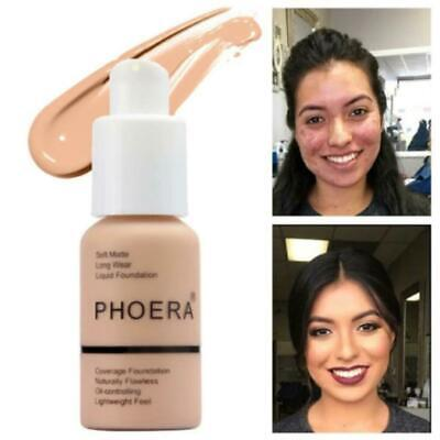 PHOERA Soft Matte Full Coverage Liquid Foundation J2L7