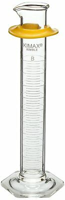 Kimble Chase KIMAX 20030-100 Borosilicate Glass ClassB Double Metric Scale 100ml
