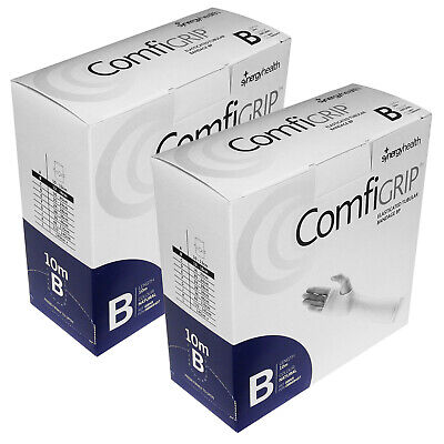 Twin Pack Comfigrip B Tubular Compression Stretch Support Bandage 6.2cm x 10m