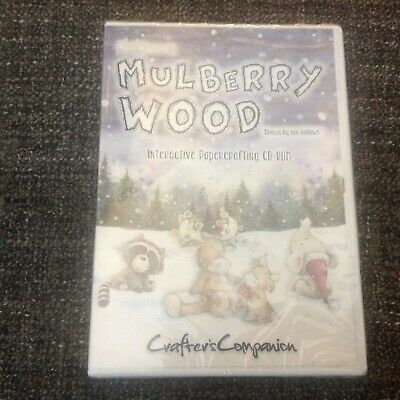 Crafters Companion Christmas In Mulberry Wood Interactive Papercrafting CD ROM