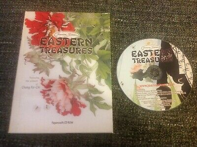 Joanna Sheen Papercraft CD Rom - Eastern Treasures Artwork From Chang Ko-Chi