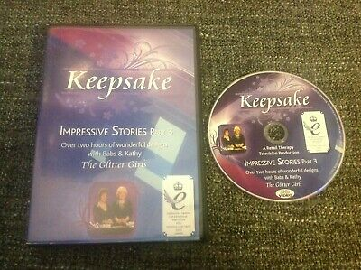Glitter Girls Keepsake Impressive Stories Part 3 - Papercrafting Craft DVD