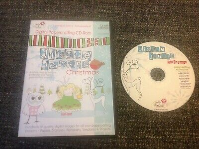 Polka Doodles Jingle Jangle Christmas - Paper Craft CD ROM Collection / Assets