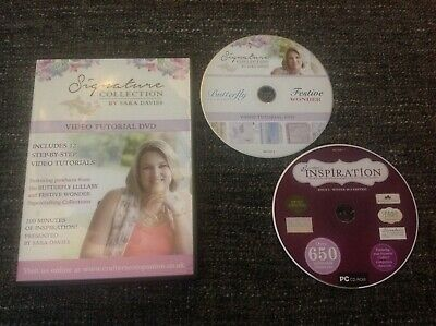 Crafters Companion Signature Collection by Sara Davies - Video Tutorial DVD
