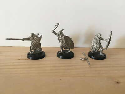Games Workshop Citadel Lord of the Rings Lotr Mahud Warriors Metal