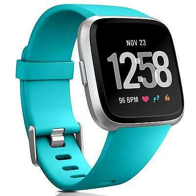 Fitbit Versa Bracelet Replacement Silicone Band Watchband Fitness+6x Film Film
