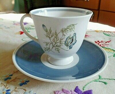 Vintage Susie Cooper Glen Mist Tea Cup and Saucer