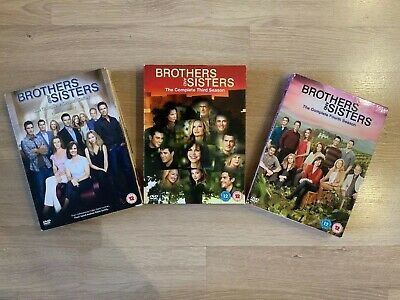 Brothers And Sisters - Series 2 3 & 4 Collection New Region 2 DVD