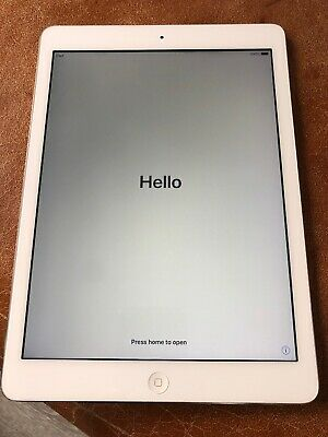 Apple iPad Air 1st Gen. 32GB, Wi-Fi (Non GB Versions), 9.7in - Silver