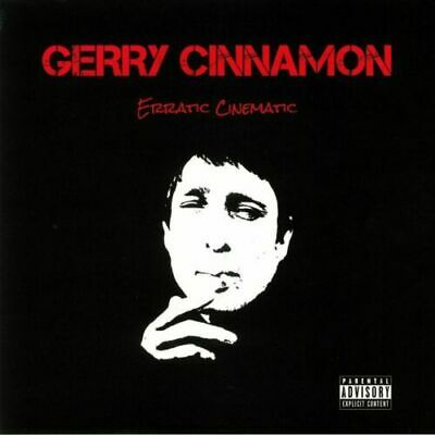 GERRY CINNAMON - Erratic Cinematic - Vinyl (limited red vinyl LP)