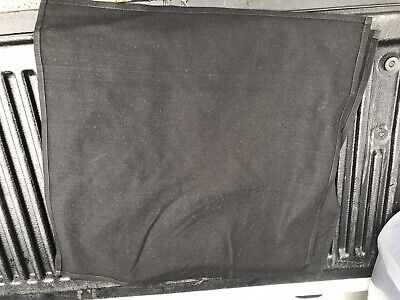 Lot Of 50 black restaurant dinner cloth linen napkins 20x20 Nice Condition