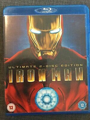 Iron Man (Blu-ray, 2008, 2-Disc Set, Box Set) Check Out My Other Items Discounts